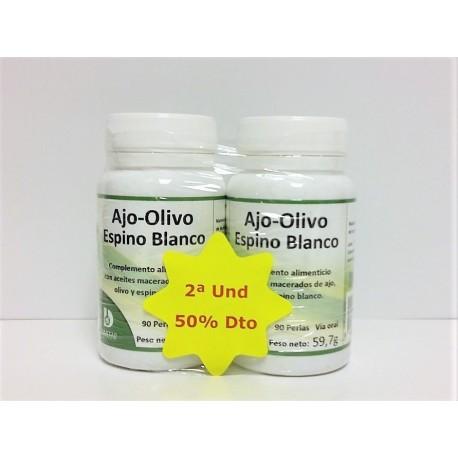 Pack Ajo olivo espino - 2a unidad al 50%dto