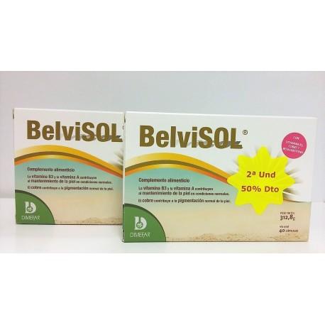 Pack Belvisol - 2a unidad al 50%dto