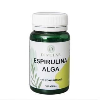 Spiruldin 120 comprimidos de espirulina.