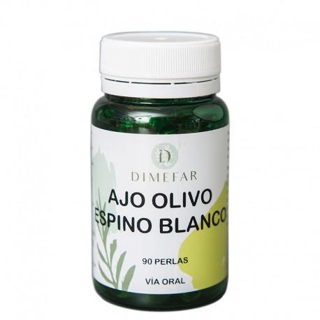 Ajo-Olivo-Espino blanco 90 perlas