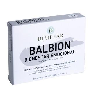 Balbion 30 cápsulas con melisa y vitaminas B1, B6, B12