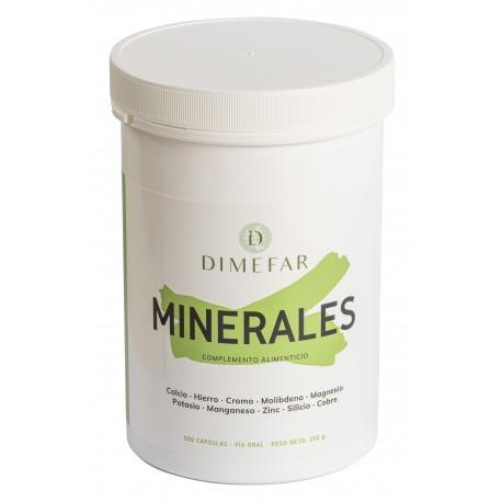 Minerales Dimefar 500 cápsulas