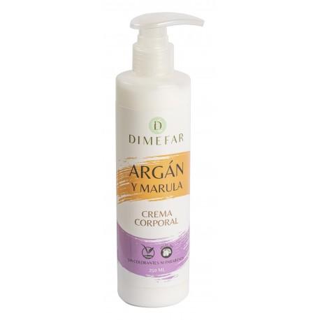 Crema Corporal de Argán y Marula 250ml